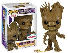 Dallas Comic Con Angry Groot POP Vinyl Exclusive  - Visit http://popvinyl.net/news/dallas-comic-con-angry-groot-pop-vinyl-exclusive/ for more information - #funko #popvinyl #Funkopop #AngryGroot, #ComicCon, #DallasComicCon, #Funko, #PopVinyl