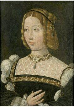 Jan Cornelisz Vermeyen (c.1500–1559) Carlos V e Isabel de Portugal 17 x 12,7 cm. colecção particular vendido num leilão da Christie's em 1999