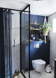 We hope that some small bathroom ideas above can bring you advantages. Actually, a tiny bathroom is okay as long as it can fill your need and you can decorate it beautifully. Tub Shower Combo, Shower Tub, Bad Inspiration, Bathroom Inspiration, Small Bathroom Storage, Small Bathrooms, Cozy Bathroom, Bathroom Toilets, Bathroom Interior Design