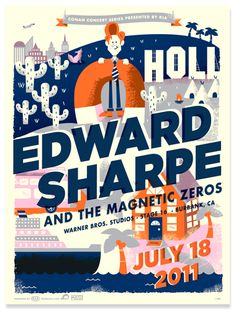 conan concert series: edward sharpe and the magnetic zero