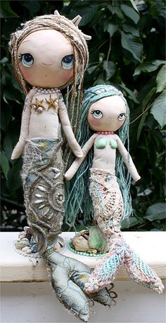 Cute mermaids