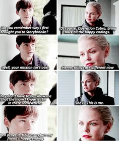 """Henry and Emma Swan - 5 * 5 """"Dream Catcher"""""""