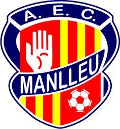 1933, AEC Manlleu (Manlleu, Cataluña, España) #AECManlleu #Manlleu #Catalonia (L19036) Soccer Logo, Soccer Teams, Association Football, Sports Clubs, Football Team, Beatles, Mustang, World, Frases