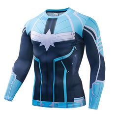 19 New Nightwing Printed T-shirts Men Long Sleeve Cosplay Costume Fitness Clothing Male Tops Halloween Costumes For Men Pri 50 Cosplay Costumes, Halloween Costumes, Fitness Clothing, Nightwing, Wetsuit, 3d Printing, Overalls, Printed, Long Sleeve