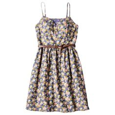 Mossimo Supply Co. Juniors Spaghetti Strap Dress w Belt - Assorted Colors.  love this dress size small
