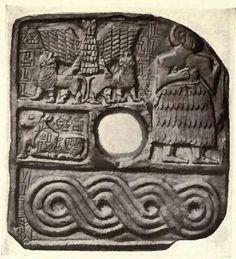 heraldic Design Of Lagash, Sumeria. the eagle