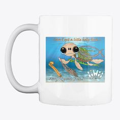 Awesome looking mug for all the solutions conferences. we fill them with tea after thinking of better ways to improve . Ocean Turtle, Florida Sunshine, Plastic Pollution, The Good Place, Make It Yourself, Mugs, Fill, Earth, Change