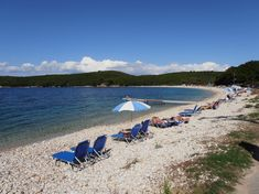 Pláž Avlaki - ostrov Korfu