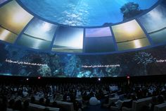 Nakheel Blue Communities Launch Video Dome Experience by Geoff Thatcher, via Flickr