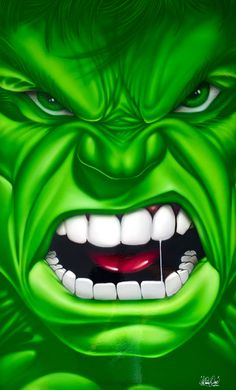 airbrushed hulk