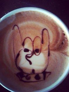 ♥ Mais em http://www.garotacriatividade.com/criatividade-com-bananas/  #creative #creativity #criativo #criatividade #coffee