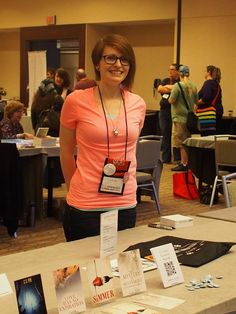 C.S. Poe - Supporting Author Signing (court. Melyna Drache)