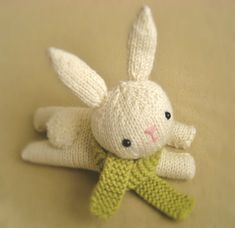 Knit Bunny Pattern - new pattern I just listed