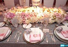 Wedding  reception setting from Pandora (Vanderpump) Todd's wedding - Real Housewives of Beverly Hills Season 2
