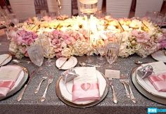 wedding decor from Pandora (Vanderpump) Todd's wedding