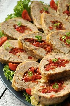 Klops drobiowy faszerowany papryką Breakfast Recipes, Snack Recipes, Dinner Recipes, Cooking Recipes, Healthy Recipes, Salty Foods, My Favorite Food, Love Food, Food To Make