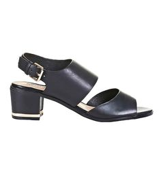 66f3cdd5fee2 Topshop Niche Two Part Sandals    Black sandals with an ankle strap Feeling  Well