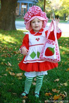 Cute Strawberry Shortcake costume