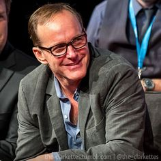 "Clark Gregg Fangirls/Fanboys no Instagram: """"Much ado about nothing"" screening with cast. #clarkgregg #muchadoaboutnothing #screening #sexy #suit #smile #leonato #handsome #style #follow #director #actor #writer #fandom #instacool #elegant #grey #instagood #fashion #lovehissmile #scruff #swag #ilovethisman #bamf #beautifuleyes #sweet"""
