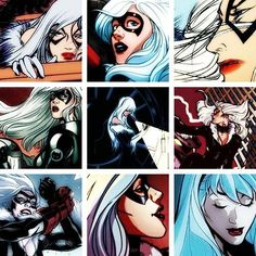 140 Best Black Cat Felicia Hardy Images On Pinterest Comic Books