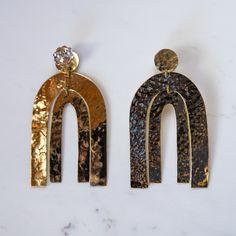 Jewels Neuf · Miss Moss Installing A Fireplace, Miss Moss, Wolf Moon, My Vibe, Jewelry Making, Brass, Jewels, Earrings, Jewellery