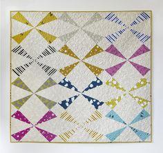 Windmill Quilt Pattern — Cotton + Steel Fabrics