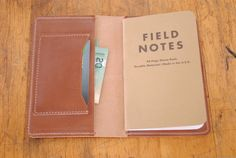 The Stowe Field Notes Wallet by TheStowe on Etsy, $36.00