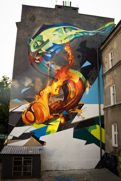 Cekas x Elomelo New Mural In Lublin, Poland