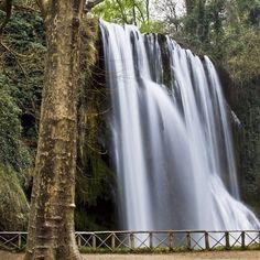 Parque Natural del Monasterio de Piedra, en Tarragona, España.