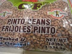 #6  making homemade seasoned pinto beans (Beans and rice, or beans and chips)