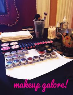 Mojo Spa™ | Mojo Spa & the House of Blues #makeup touch ups for guests of the Jesse J concert in #chicago