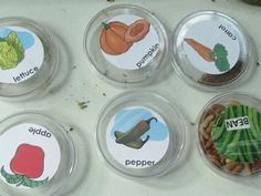 Exploring the seeds of Fall by Teach Preschool