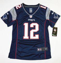 8c2708bc54 Camisa New England Patriots - 12 Tom Brady - Feminina - PRONTA ENTREGA