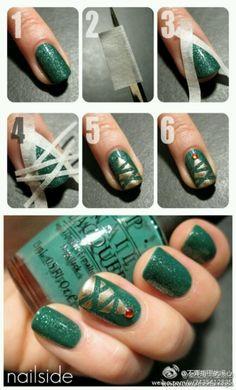 Chriatmas tree nails!