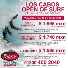 ¨Los Cabos Open Of Surf¨, es el festival de Surf y Música más importante en la actualidad en Latinoamérica!! Ven a disfrutar de este importante evento con nosotros!!