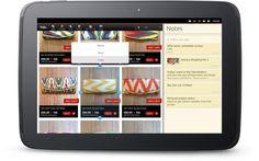 Ubuntu tablet running multipule applications side by side