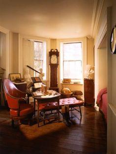 thomas jefferson study room monticello