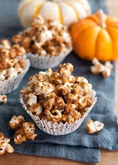Recipe: Pumpkin Spiced Caramel Corn