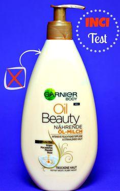 NEU: Garnier Oil Beauty Nährende Öl-Milch mit Argan, Macadamia, Mandel und Rose Seit längere Zeit beobachte ich die Pflegeprodukte von Gatr...