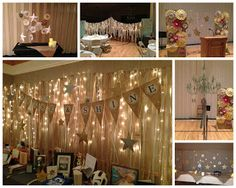 YW Evening of Excellence: Shine: A Night of Stars. Decor and Handout ideas only.