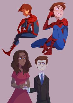 Spider-Man: Homecoming || Peter Parker and Liz Allen