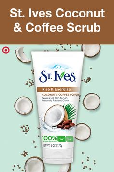 You made your voice heard, and Coconut & Coffee is your new favorite scrub. Save with your Cartwheel app on the newest scrub from St. Ives—creamy, energizing and available only at Target.