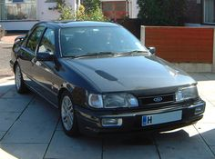 Ford Sierra Sapphire Cosworth 4x4 - Flint Grey (This little monster was mine)