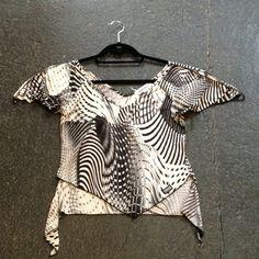 Vintage Versace blouse Doubletake www.dtroppy.blogspot.com