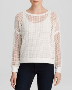 Generation Love Top - White Mesh