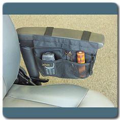 power wheelchair arm pouch