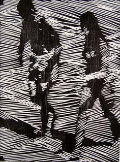 Hitesh Durgani — hitku: Nick Bodimeade Black and white Noir et...