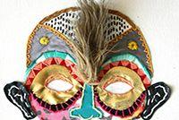 Frida Khalo - edo morales Facial, Textiles, Embroidery, Hats, Frida Khalo, Visual Communication, Facial Treatment, Needlepoint, Facial Care