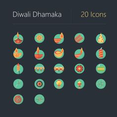 Diwali Dhamaka Icons on Behance