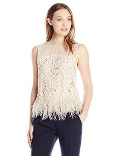 Greylin Women's Miri Feather Top